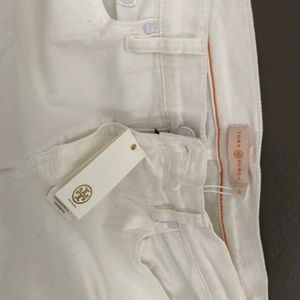 Tory Burch NWT white jeans size 30